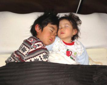 寝ているときの子供の歯ぎしりが気になる
