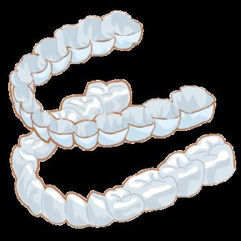歯ぎしり防止のナイトガード
