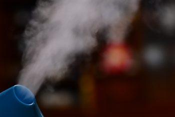 加湿器でインフルエンザ予防